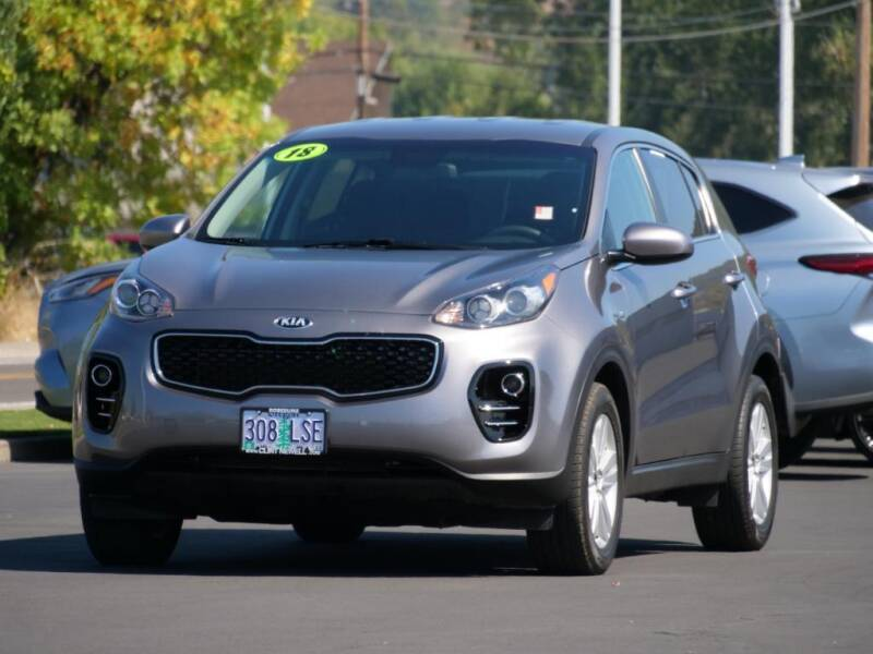 2018 Kia Sportage for sale at CLINT NEWELL USED CARS in Roseburg OR