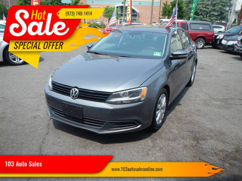 2012 Volkswagen Jetta for sale at 103 Auto Sales in Bloomfield NJ