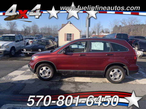 2009 Honda CR-V for sale at FUELIN FINE AUTO SALES INC in Saylorsburg PA