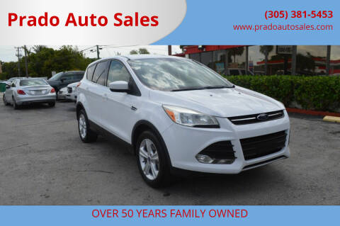 2015 Ford Escape for sale at Prado Auto Sales in Miami FL
