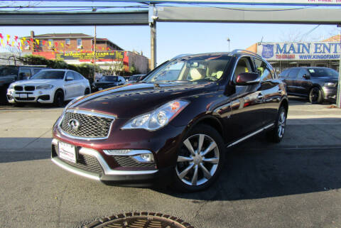 2017 Infiniti QX50 for sale at MIKEY AUTO INC in Hollis NY