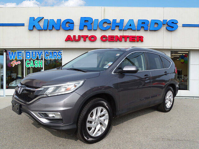 2015 Honda CR-V for sale at KING RICHARDS AUTO CENTER in East Providence RI