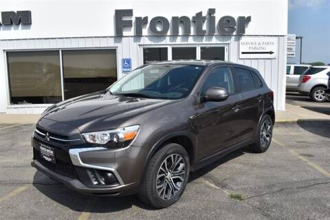 2019 Mitsubishi Outlander Sport for sale at Frontier Motors Automotive, Inc. in Winner SD