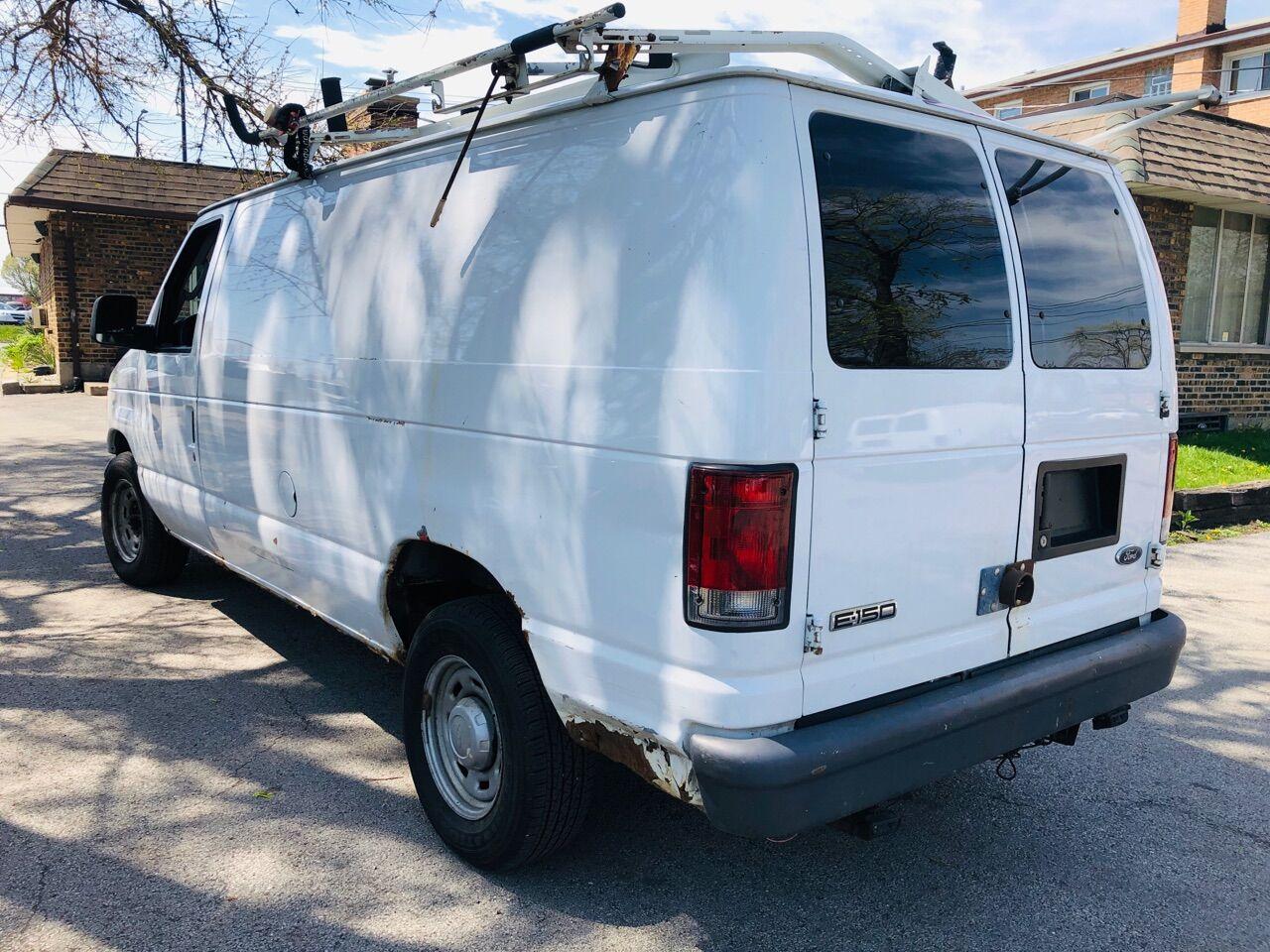 White 2006 FORD E-SERIES CARGO for sale in Bridgeview, IL Photo 3