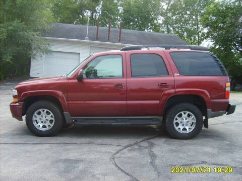 2003 Chevrolet Tahoe for sale at Northport Motors LLC in New London WI