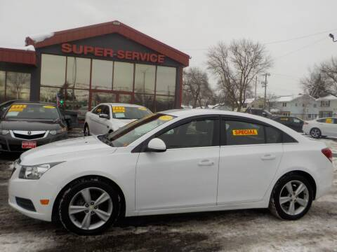 2013 Chevrolet Cruze for sale at Super Service Used Cars in Milwaukee WI