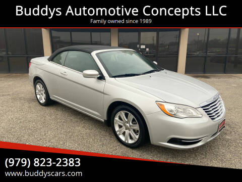 2011 Chrysler 200 Convertible for sale at Buddys Automotive Concepts LLC in Bryan TX