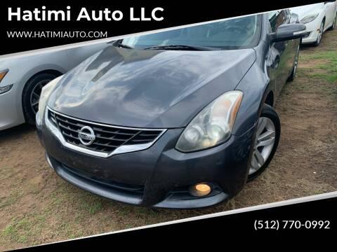 2012 Nissan Altima for sale at Hatimi Auto LLC in Buda TX