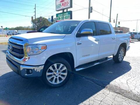 2014 Toyota Tundra for sale at Lux Auto in Lawrenceville GA
