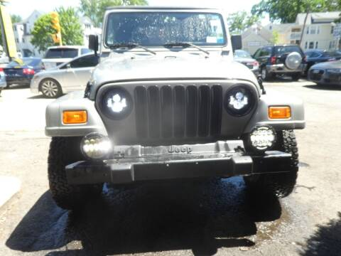 2001 Jeep Wrangler for sale at Wheels and Deals in Springfield MA