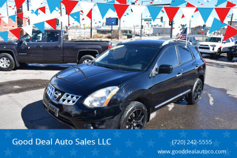 2013 Nissan Rogue for sale at Good Deal Auto Sales LLC in Denver CO