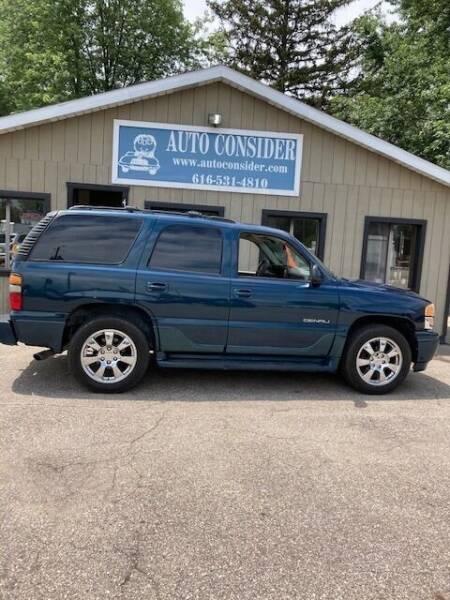 2006 GMC Yukon for sale at Auto Consider Inc. in Grand Rapids MI