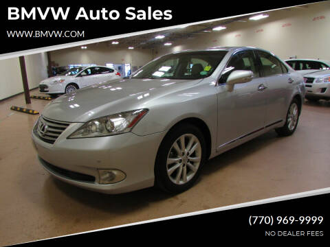 2011 Lexus ES 350 for sale at BMVW Auto Sales in Union City GA