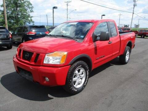 2011 Nissan Titan for sale at FINAL DRIVE AUTO SALES INC in Shippensburg PA