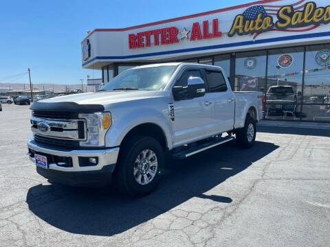 2017 Ford F-250 Super Duty for sale at Better All Auto Sales in Yakima WA