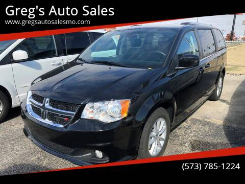2019 Dodge Grand Caravan for sale at Greg's Auto Sales in Poplar Bluff MO