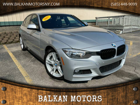 2015 BMW 3 Series for sale at BALKAN MOTORS in East Rochester NY