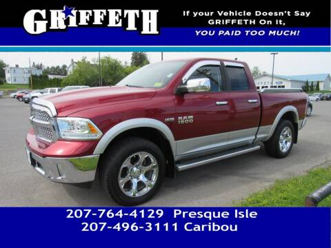 2013 RAM Ram Pickup 1500 for sale at Griffeth Mitsubishi - Pre-owned in Caribou ME
