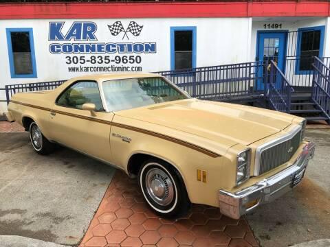 1977 Chevrolet El Camino for sale at Kar Connection in Miami FL