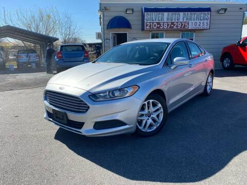 2016 Ford Fusion for sale at Silver Auto Partners in San Antonio TX