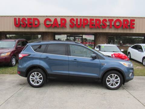 2018 Ford Escape for sale at Checkered Flag Auto Sales NORTH in Lakeland FL
