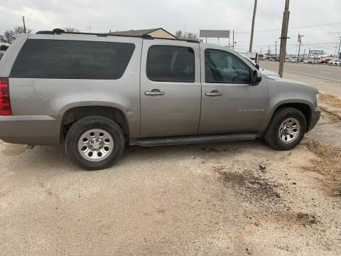 2009 Chevrolet Suburban for sale at WF AUTOMALL in Wichita Falls TX