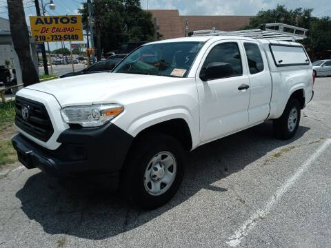2017 Toyota Tacoma for sale at RICKY'S AUTOPLEX in San Antonio TX