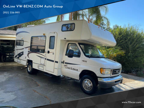 2004 Coachmen Pathfinder for sale at OnLine VW-BENZ.COM Auto Group in Riverside CA