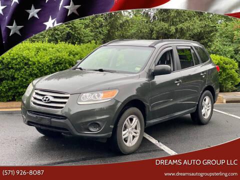 2012 Hyundai Santa Fe for sale at Dreams Auto Group LLC in Sterling VA