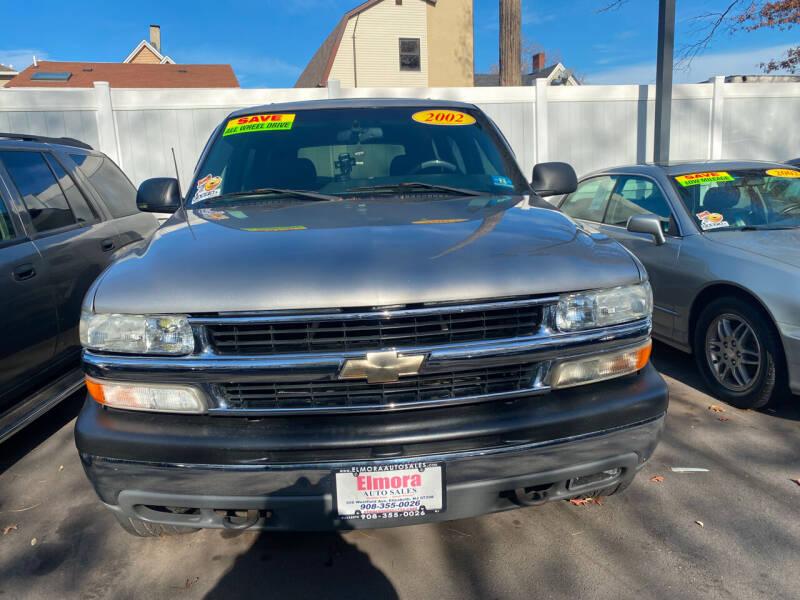 2002 Chevrolet Tahoe for sale at Elmora Auto Sales in Elizabeth NJ