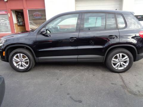 2012 Volkswagen Tiguan for sale at Best Choice Auto Sales Inc in New Bedford MA