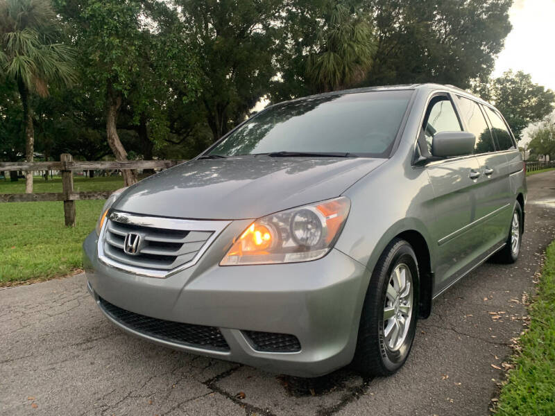 2010 Honda Odyssey for sale at LESS PRICE AUTO BROKER in Hollywood FL