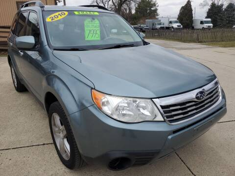 2010 Subaru Forester for sale at Kachar's Used Cars Inc in Monroe MI
