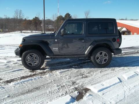 2019 Jeep Wrangler for sale at Rt. 44 Auto Sales in Chardon OH
