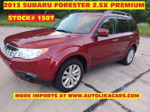 2013 Subaru Forester for sale at Autolika Cars LLC in North Royalton OH