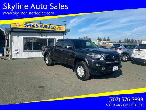 2016 Toyota Tacoma for sale at Skyline Auto Sales in Santa Rosa CA