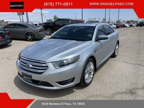 2017 Ford Taurus for sale at SOUTHWEST AUTO GROUP-EL PASO in El Paso TX
