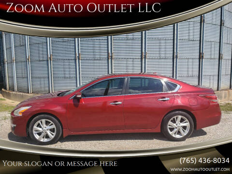 2013 Nissan Altima for sale at Zoom Auto Outlet LLC in Thorntown IN