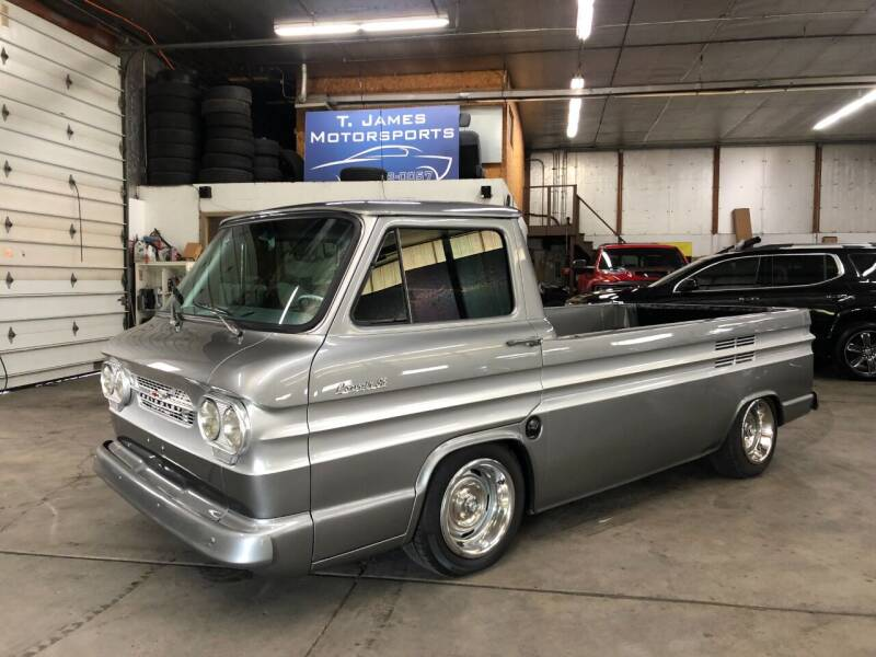 1961 Chevrolet Corvair for sale at T James Motorsports in Gibsonia PA