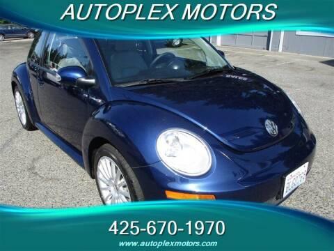 2007 Volkswagen New Beetle for sale at Autoplex Motors in Lynnwood WA