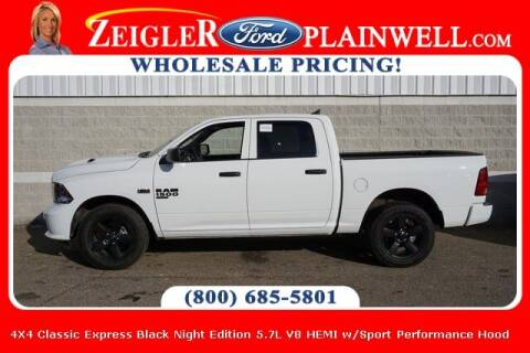 2020 RAM Ram Pickup 1500 Classic for sale at Zeigler Ford of Plainwell- Jeff Bishop in Plainwell MI
