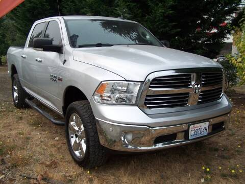 2016 RAM Ram Pickup 1500 for sale at M & M Auto Sales LLc in Olympia WA