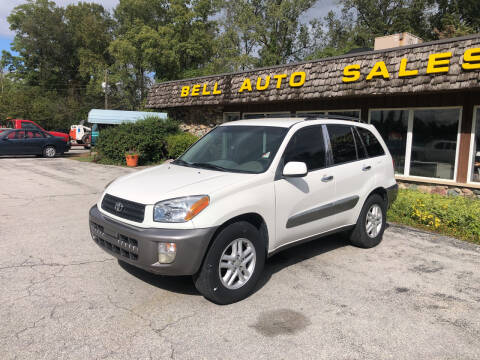 2001 Toyota RAV4 for sale at BELL AUTO & TRUCK SALES in Fort Wayne IN