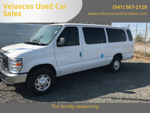 2014 Ford E-Series Wagon for sale at Velascos Used Car Sales in Hermiston OR