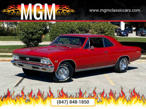 1966 Chevrolet Chevelle for sale at MGM Classic Cars in Addison, IL