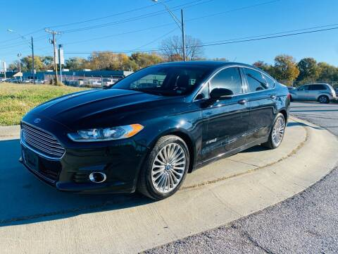 2014 Ford Fusion Hybrid for sale at Xtreme Auto Mart LLC in Kansas City MO