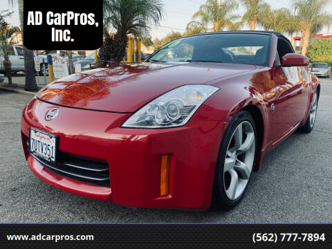 2006 Nissan 350Z for sale at AD CarPros, Inc. in Whittier CA