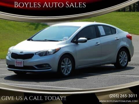 2014 Kia Forte for sale at Boyles Auto Sales in Jasper AL