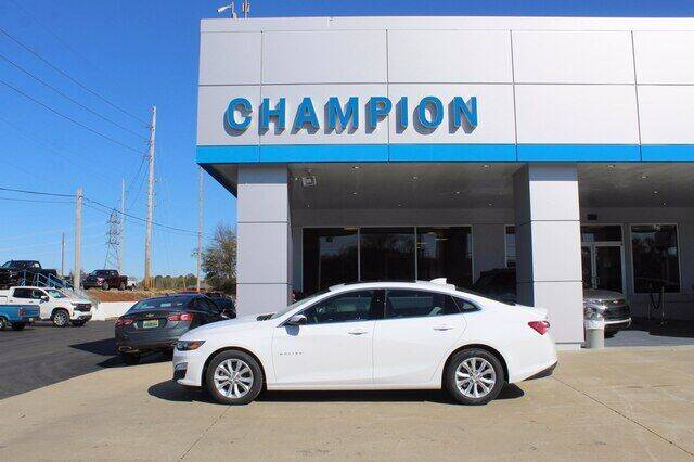 2021 Chevrolet Malibu for sale at Champion Chevrolet in Athens AL