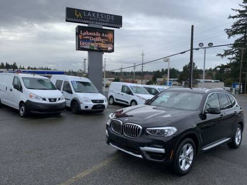 2020 BMW X3 for sale at Lakeside Auto in Lynnwood WA